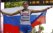 Londres 2012, Juegos Olmpicos,  Yelena Lashmanova,  Olga Kaniskina
