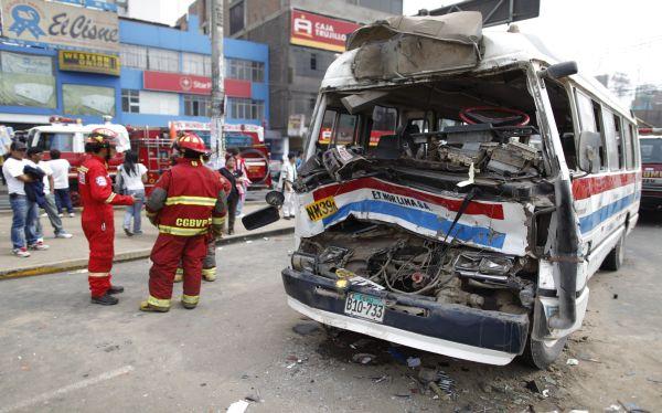 Panamericana Norte, , Accidentes de tránsito, Policía de Tránsito, Carretera Central
