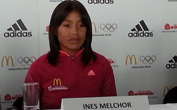 Maratón, Inés Melchor, Londres 2012, Juegos Olímpicos, Río 2016, Peruanos en Londres 2012