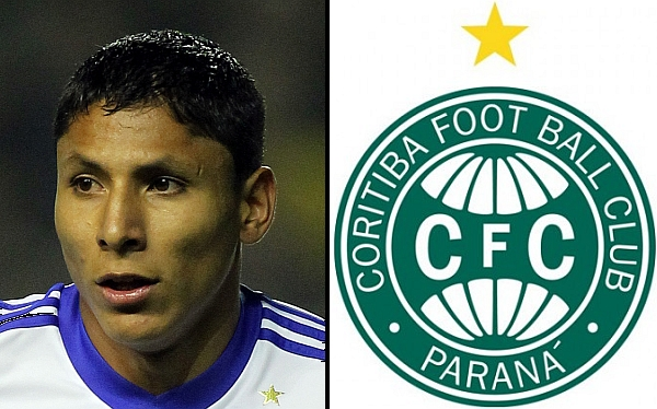 Raúl Ruidíaz, Coritiba