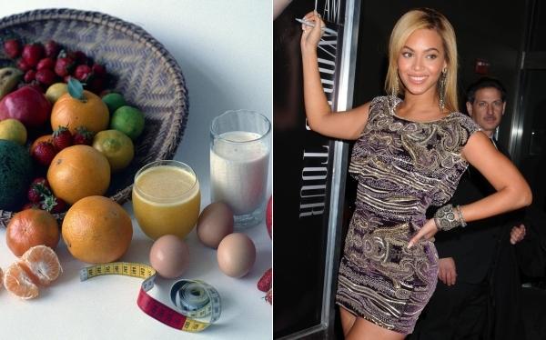 Conoce la dieta de Beyoncé para perder 27 kilos luego de dar a luz