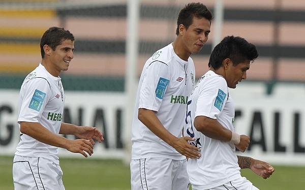 Emelec, Universidad San Martín, Copa Sudamericana 2012