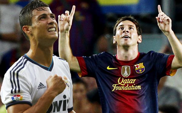 FC Barcelona, Cristiano Ronaldo, Lionel Messi, Supercopa de España, Clásico del fútbol español, Real Madrid