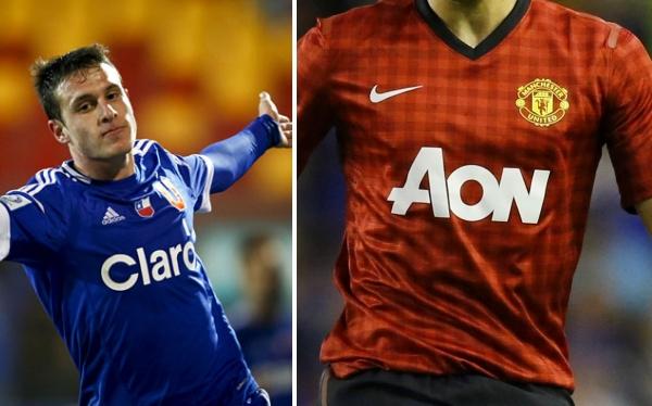 Liga Premier, Premier League, Universidad de Chile, U. de Chile, Manchester United, Ángelo Henríquez