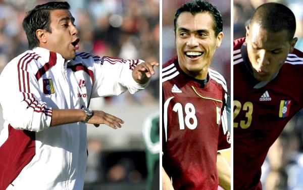 César Farías, Juan Arango, Salomón Rondón, Eliminatorias Brasil 2014, Selección venezolana