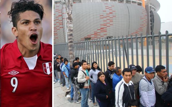 Estadio Nacional, Eliminatorias Brasil 2014, Selección peruana