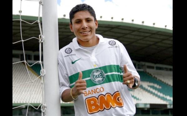 Brasileirao, Raúl Ruidíaz, Coritiba, Fútbol brasileño