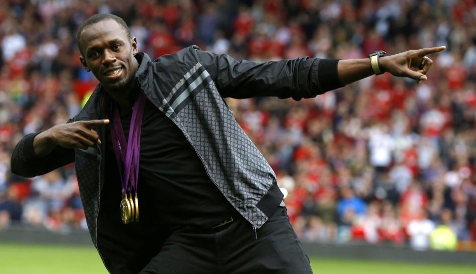 Atletismo, Usain Bolt, Londres 2012, Manchester United