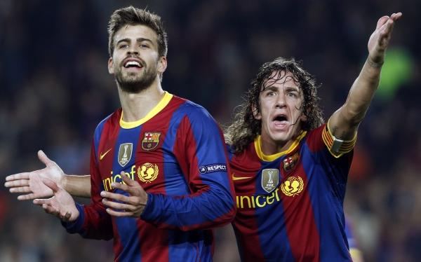 FC Barcelona, Carles Puyol, Gerard Piqué, Supercopa de España, Clásico del fútbol español, Real Madrid