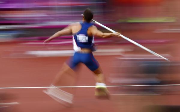 Atletismo, Alemania, Düsseldorf,  Jabalina