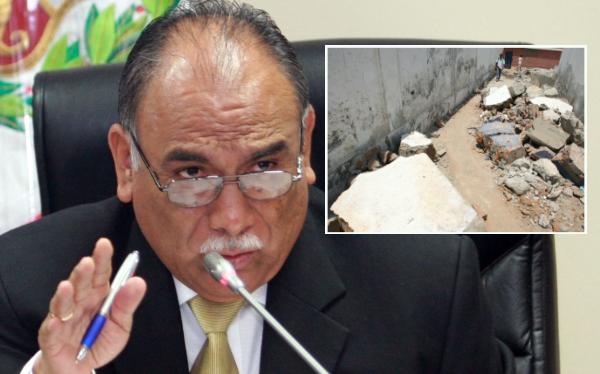 Ex funcionarios de Forsur responderán en noviembre por proceso de reconstrucción