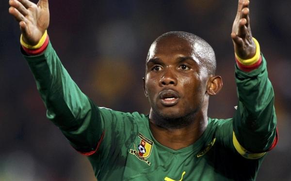 Samuel Eto'o, Selección de Camerún, Copa África