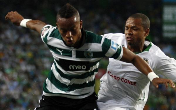 Fútbol portugués, Sporting de Lisboa, André Carrillo, Liga portuguesa, Portugal, Rio Ave FC