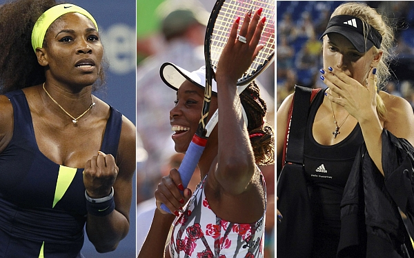 Tenis, ATP, Venus Williams, Serena Williams, Caroline Wozniacki, Abierto de Estados Unidos, US Open