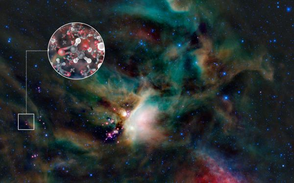 ALMA,  Observatorio Austral Europeo,  IRAS 16293-2422