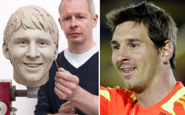 FC Barcelona, Lionel Messi, Londres, Madame Tussauds