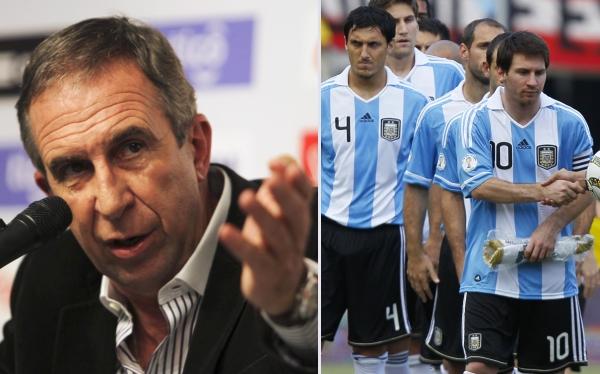 Lionel Messi, Gerardo Pelusso, Selección paraguaya, Selección argentina, Eliminatorias Brasil 2014
