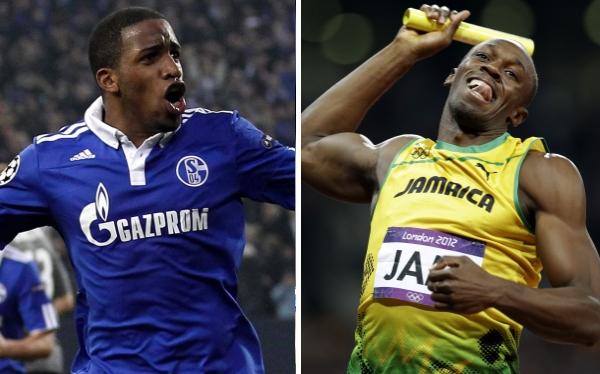 Jefferson Farfán, Bundesliga, Usain Bolt, Fútbol alemán, Schalke 04, Alemania