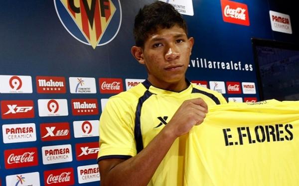 Fútbol español, Villarreal CF, Edison Flores
