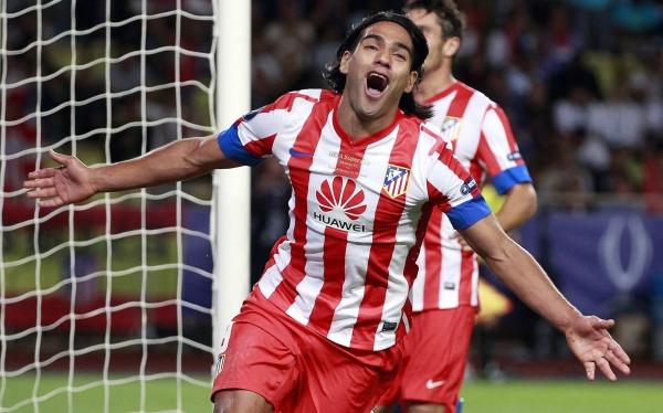 Radamel Falcao, Chelsea FC, Atlético de Madrid,  Supercopa de Europa