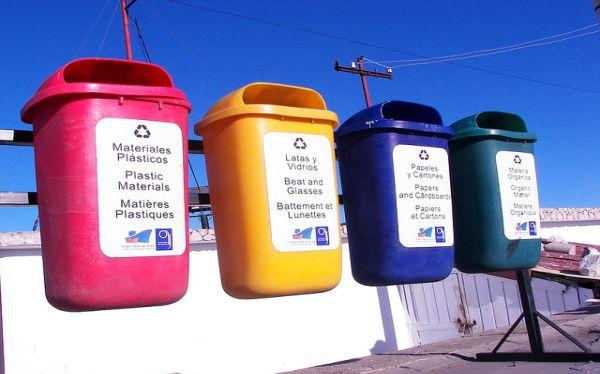 Reciclaje, Medio ambiente, Uruguay, Papeleras,  Residuos clasificados,  Escuelas primarias