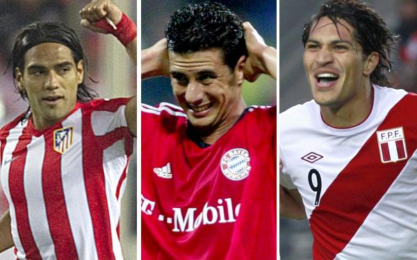 Claudio Pizarro, Bayern Múnich, Paolo Guerrero, Atlético de Madrid, Radamel Falcao, Selección colombiana, Selección peruana