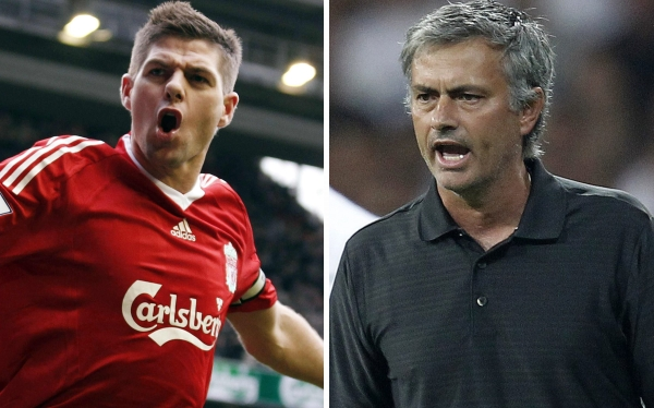 José Mourinho, Steven Gerrard, Fútbol español, Fútbol inglés, Liverpool  FC, Real Madrid, Manchester United