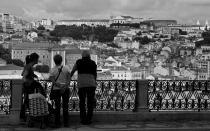 Lisboa en blanco y negro: un recorrido fotogrfico por la capital portuguesa