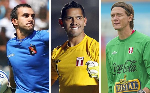 Raúl Fernández, Diego Penny, José Carvallo, Eliminatorias Brasil 2014, Selección venezolana, Selección peruana