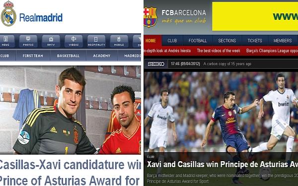 FC Barcelona, Premio Príncipe de Asturias, Iker Casillas, Liga española, Fútbol español, España, Xavi Hernández, Real Madrid