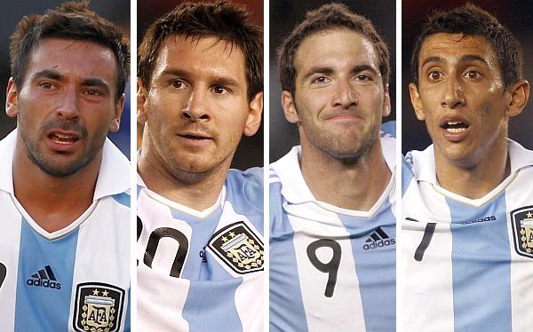 Lionel Messi, Alejandro Sabella, Selección paraguaya, Ángel Di María, Selección argentina, Eliminatorias Brasil 2014