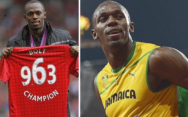 Usain Bolt, Sir Alex Ferguson, Real Madrid, Amistosos internacionales, Manchester United