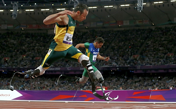 Oscar Pistorius, Juegos Paralímpicos, Juegos Paralímpicos de Londres 2012, Jonnie Peacock