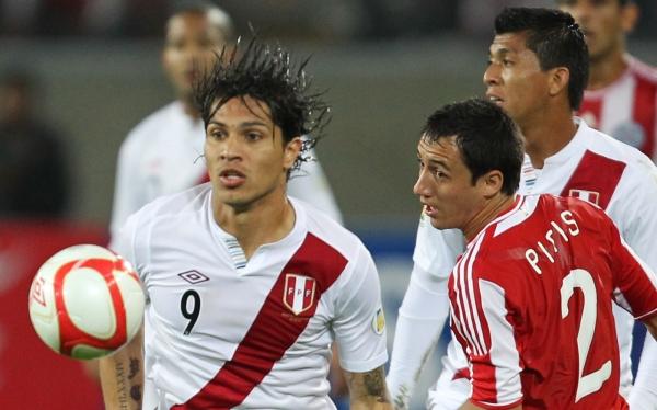 Paolo Guerrero, Selección argentina, Eliminatorias Brasil 2014, Selección peruana