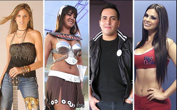Tilsa Lozano, Melcochita, Anna Carina Copello,  Tommy Portugal,  Sully Saenz