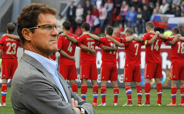 Fabio Capello, Selección rusa, UEFA, Eliminatorias Brasil 2014,  Selección de Irlanda del Norte