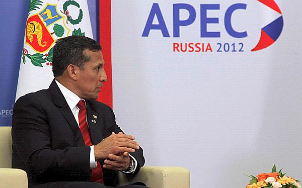 Ollanta Humala, Conflictos sociales, Economía peruana, APEC, Rusia, Proyecto Conga, Sendero Luminoso, Vraem