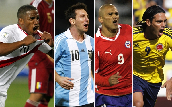 Eliminatorias Brasil 2014, Selección argentina, Selección peruana
