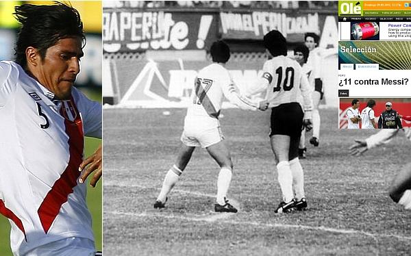 Luis Reyna, Sergio Markarián, Diego Armando Maradona, Selección argentina, Eliminatorias Brasil 2014, Selección peruana