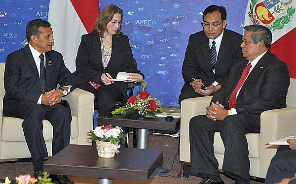 Indonesia, Ollanta Humala, Economía peruana, APEC, Rusia