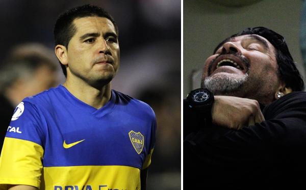 Juan Román Riquelme, Fútbol argentino, Diego Armando Maradona, Boca Juniors
