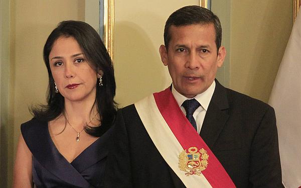 Ollanta Humala, Ipsos Apoyo, Aprobación presidencial