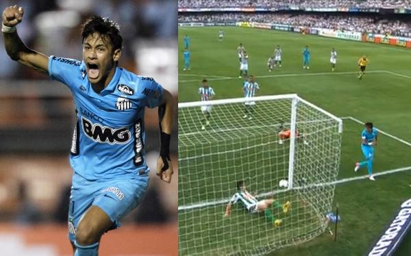 Brasileirao, Neymar, Santos FC, Coritiba, Fútbol brasileño