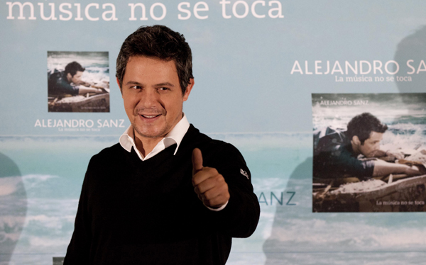 Alejandro Sanz: 