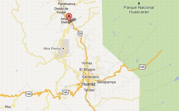 Áncash, , Conflictos sociales, Huaraz, Protestas antimineras, Barrick, Minera Barrick,  Mina Pierina