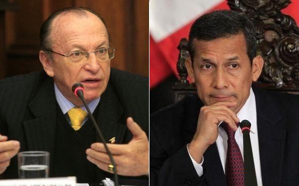 Ollanta Humala, José Peláez Bardales
