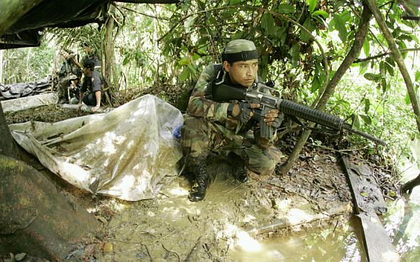 Fuerza Armadas, Narcotráfico, Clan Quispe Palomino, Policía Nacional del Perú, Sendero Luminoso, Vraem