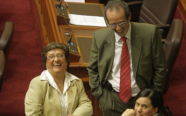 Ollanta Humala, Javier Diez Canseco, , Rosa Mavila,  Fuerza Ciudadana