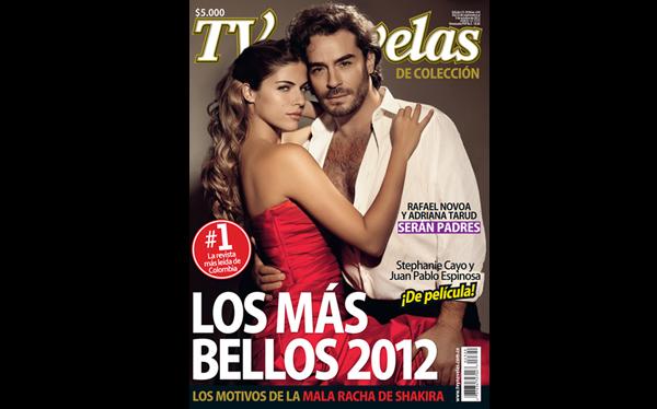 ... Cayo, una de las mujeres más bellas de la televisión colombiana