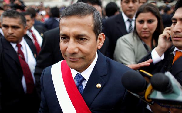 Ollanta Humala, Aprobación presidencial